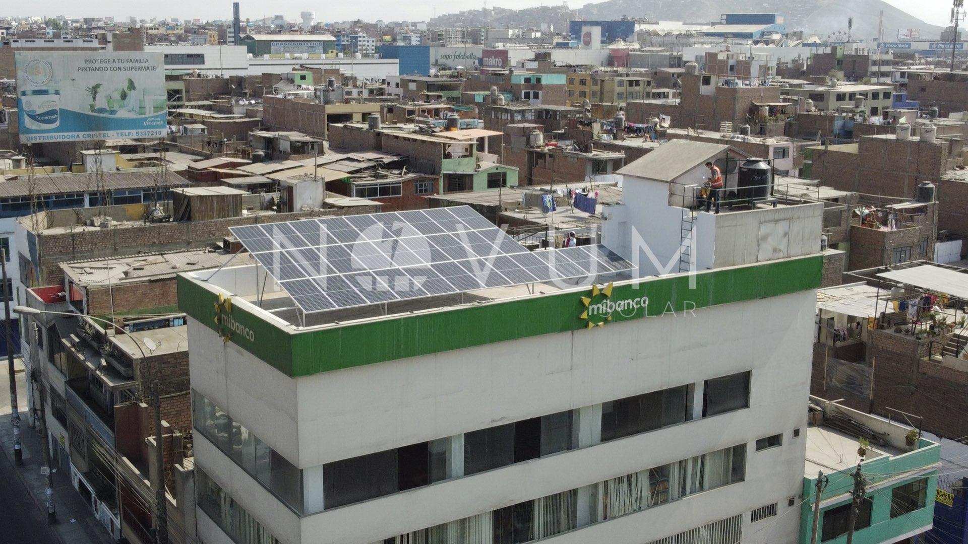 Paneles solare en Mi Banco